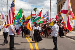 Fiesta Day & Parade of Flags