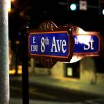 8th avenue sign