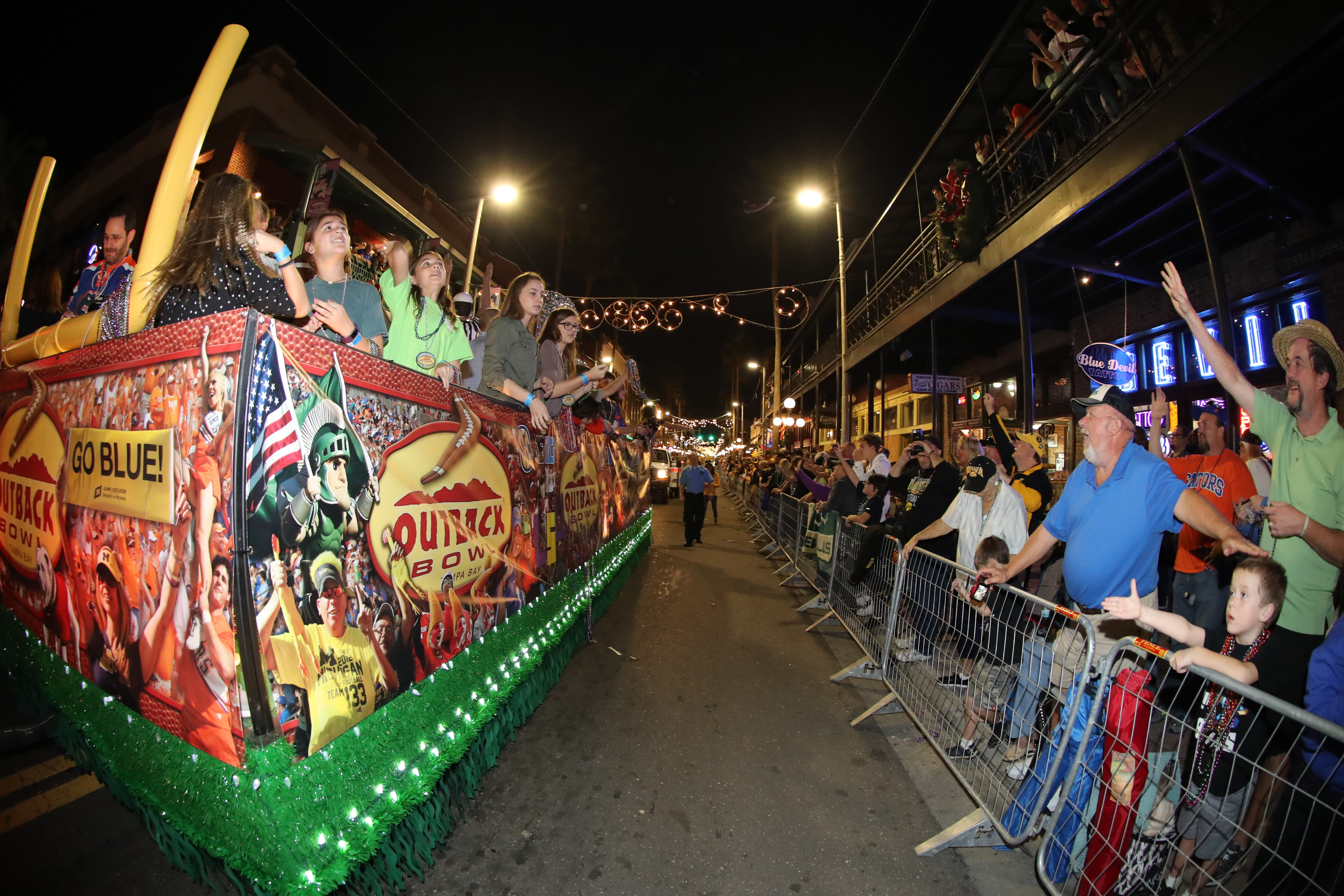 Outback Bowl New Year's Eve Parade
