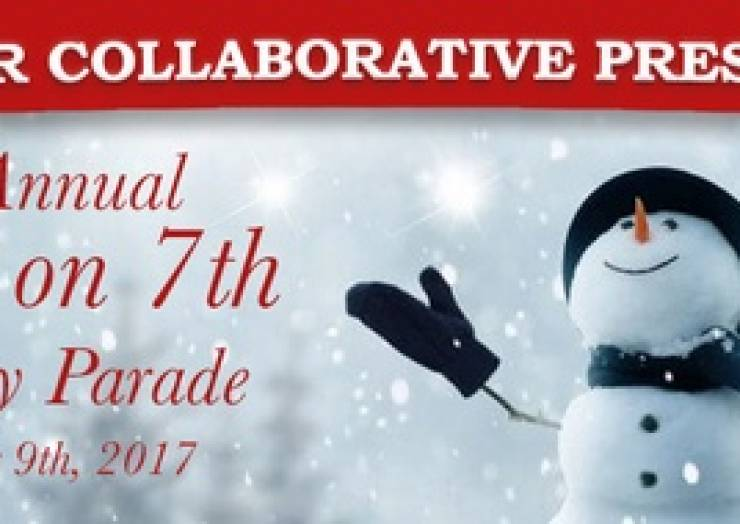 Ybor City Snow on 7th Holiday Parade