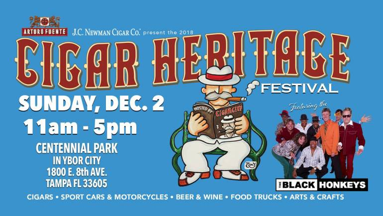 Ybor City Cigar Festival at Centennial Park