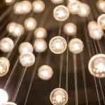 series of light bulbs
