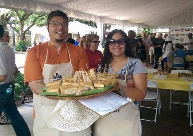 Cuban Sandwich Festival at Centennial Park