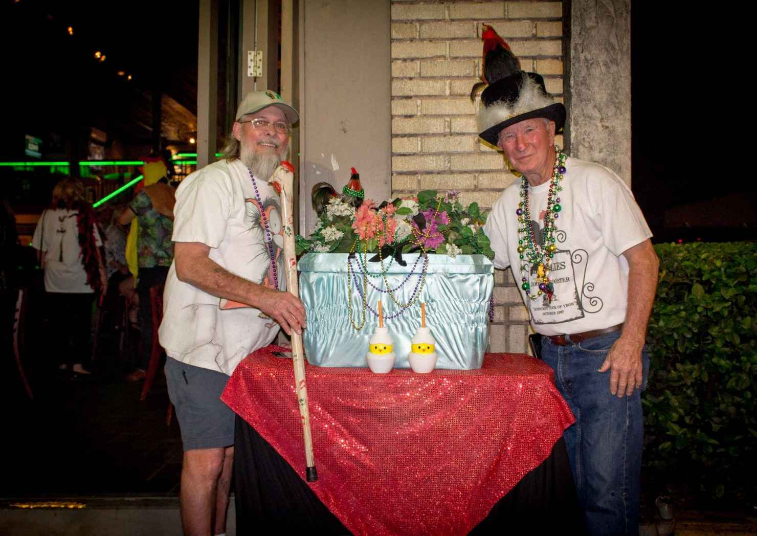 James E Rooster Parade/ Fat Tuesday Bar Crawl