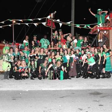 Crowds Gather in Ybor City for St. Patrick's Day Parade