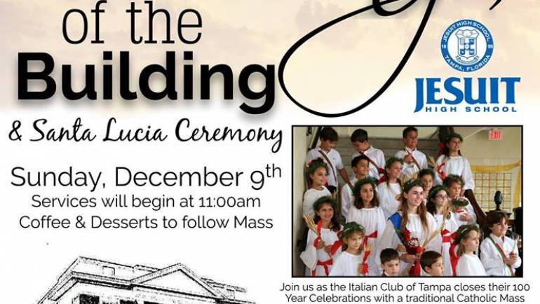 Santa Lucia Mass and Blessing Ceremony, 100th Year Anniversary Event