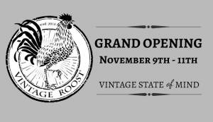 The Vintage Roost Grand Opening in Ybor City on November 9
