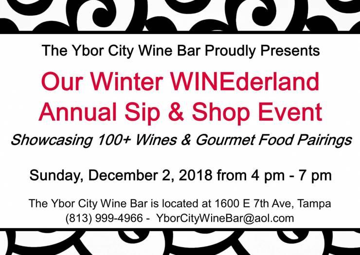 Winter WINEderland Sip & Shop Event
