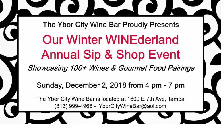 Winter WINEderland Sip & Shop Event