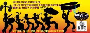 End of Parade Season Mourning Celebration