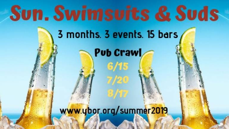 Sun, Swimsuits, & Suds- Ybor Hop