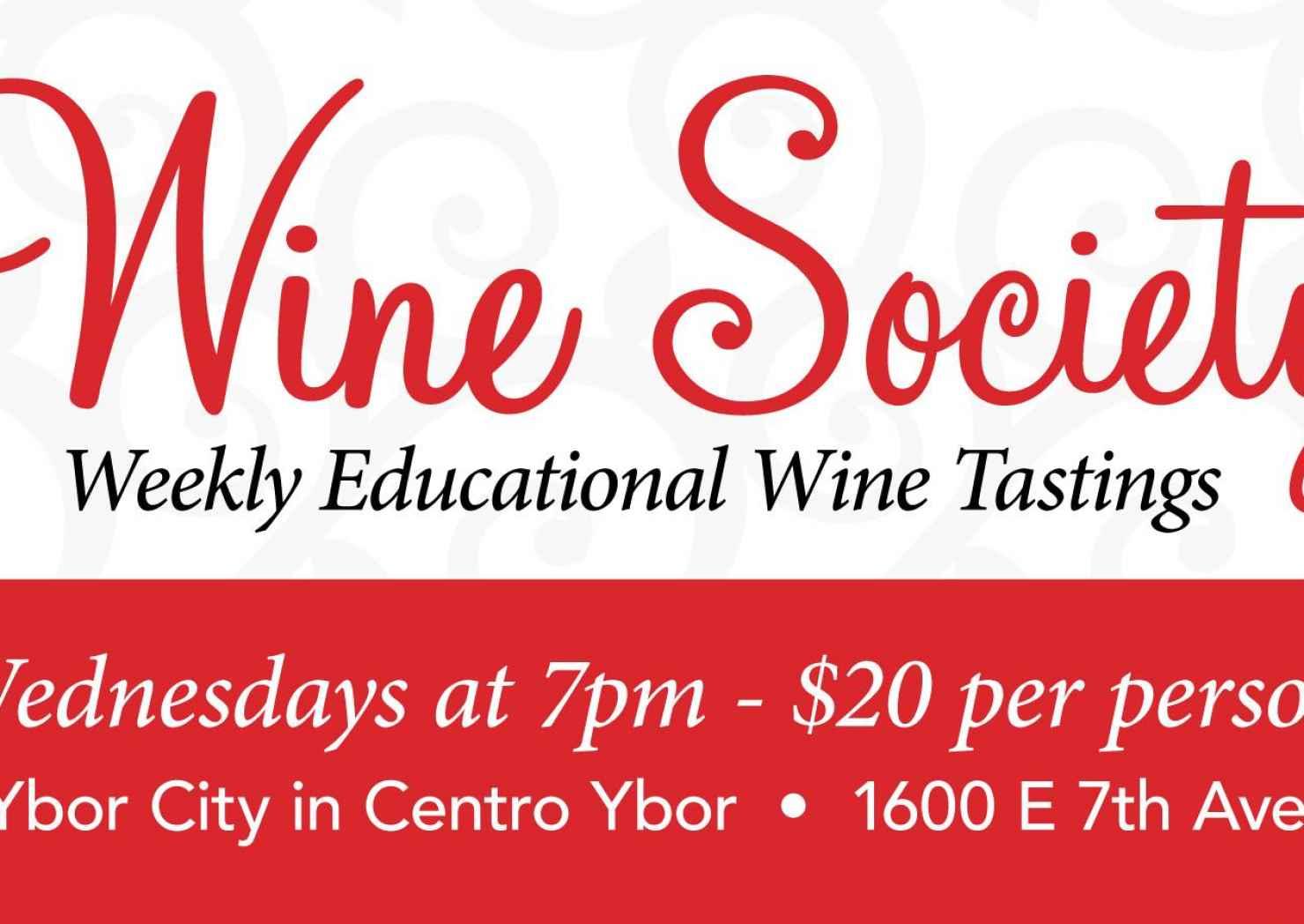 Ybor City Wine Bar – Weekly Wine Society