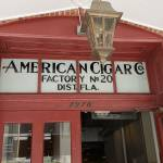 American Cigar Co sign