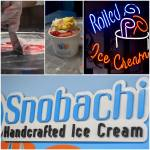 Snobachi Ice Cream Sign