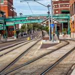 Streetcar Tracks in centro ybor