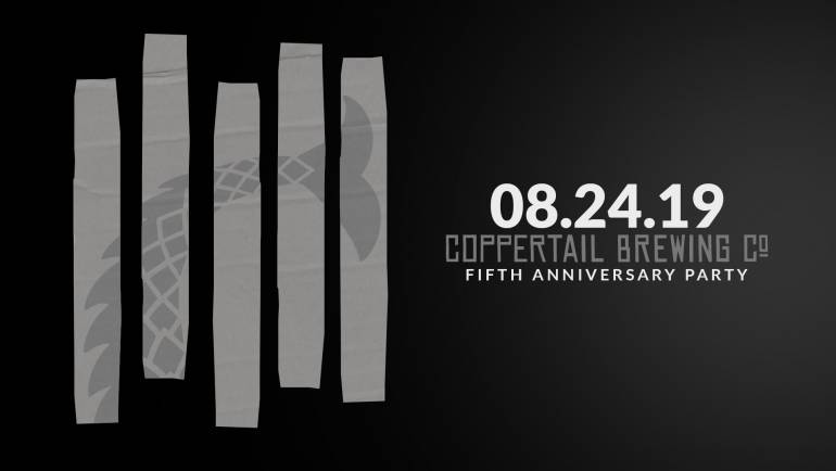Coppertail Brewing 5th Year Anniversary