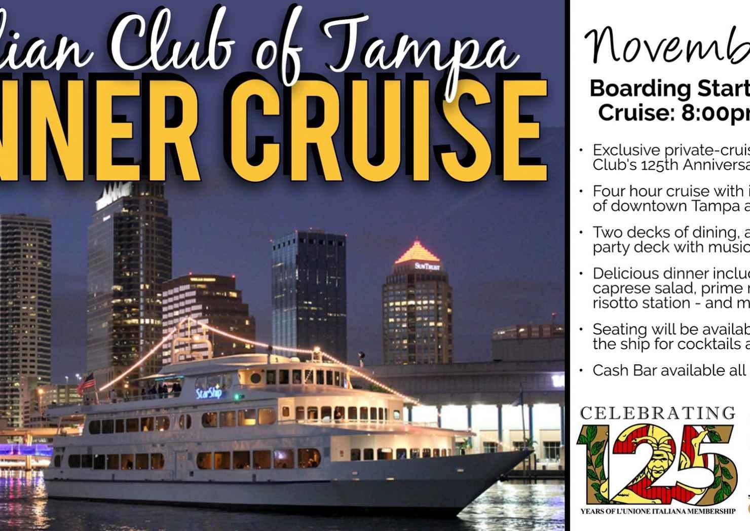 Italian Club Dinner Cruise