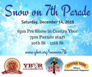 Snow on 7th Parade