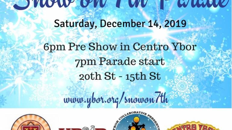 Ybor Snow of 7th Parade