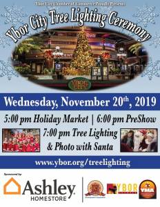 Christmas Tree Lighting Flyer