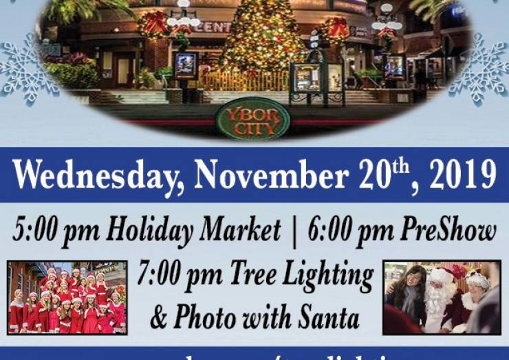 Ybor City Tree Lighting Ceremony & Holiday Market