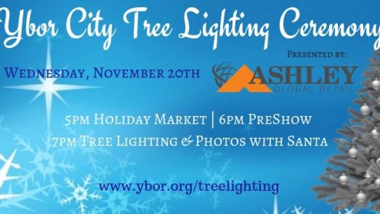 Ybor City Tree Lighting Ceremony & Holiday Market