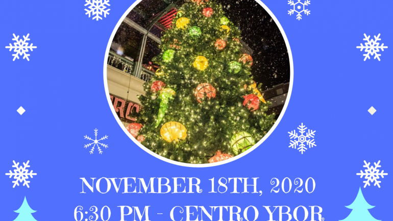 Ybor City Tree Lighting Ceremony