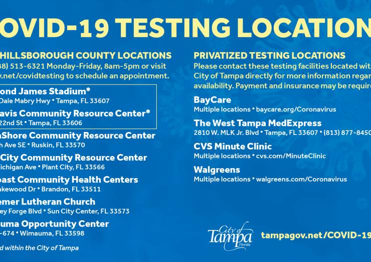 Hillsborough County now offering online registration for COVID testing