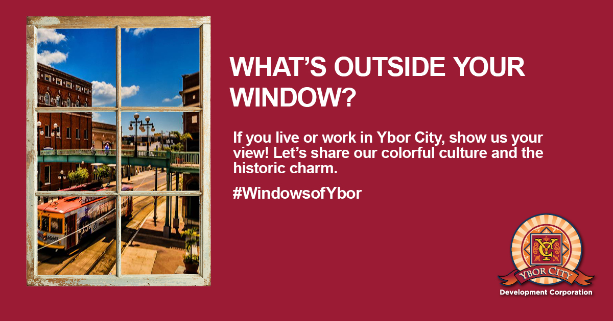 Let's help the world visit Ybor City through your window.