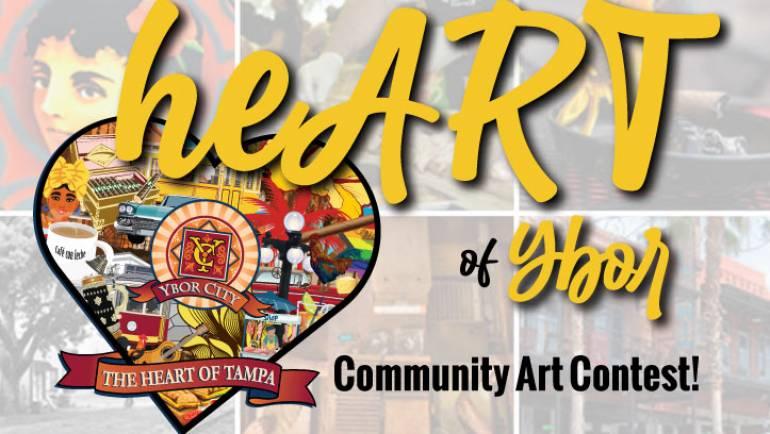 Ybor City Launches Inaugural 'heART of Ybor' Community Art Contest